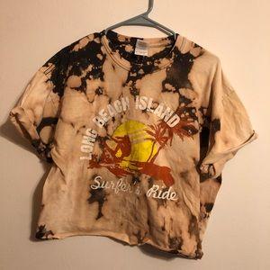 Acid wash shirt